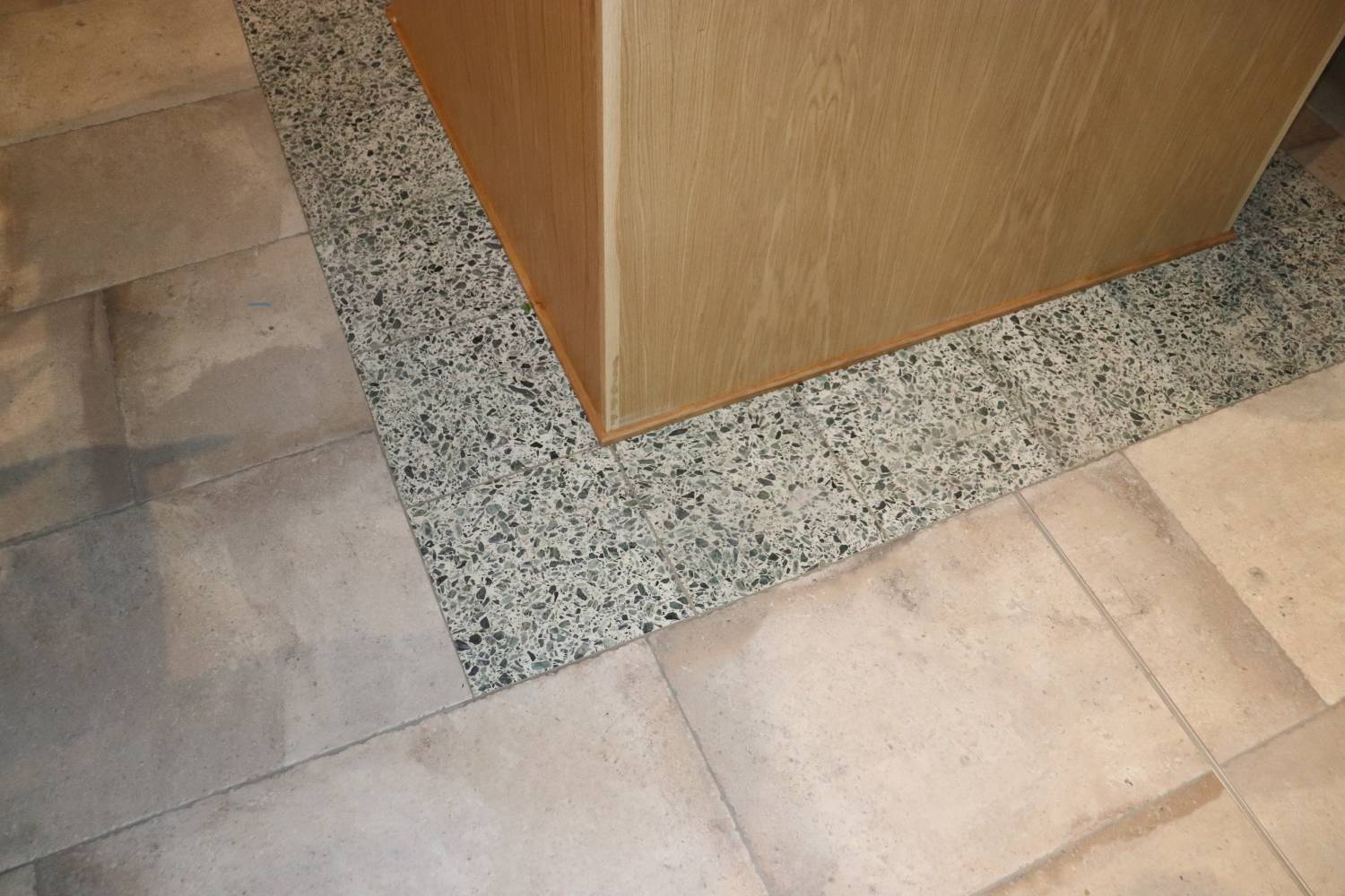 Terrazzo Floor Tiles at Foodwell Restaurant Deansgate Manchester